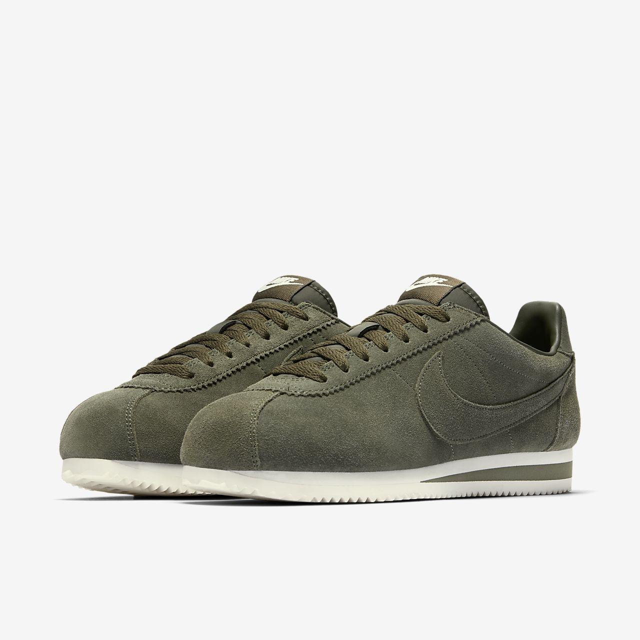 Nike Cortez De Base Se Chaussures Noires 3ZbrM0E