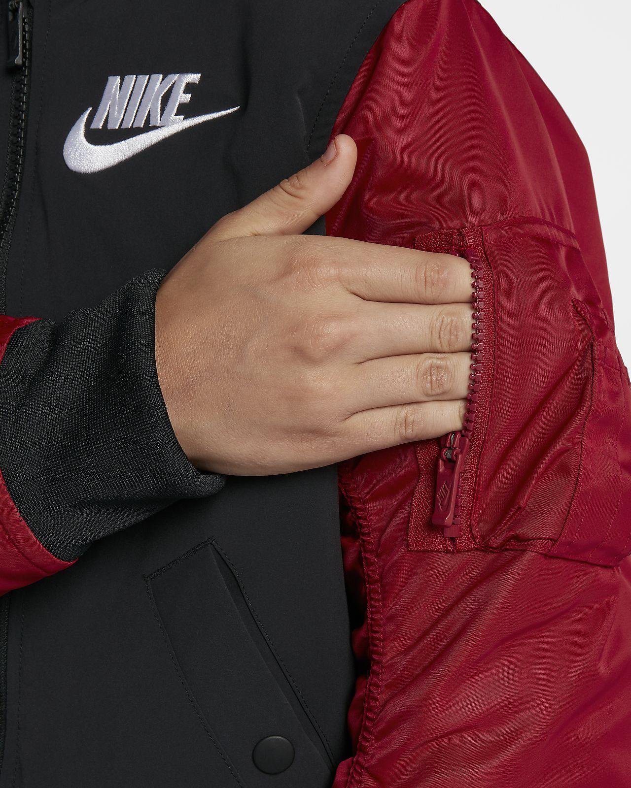 d7da0ec6b27b13 Nike Sportswear Big Kids  Varsity Jacket. Nike.com