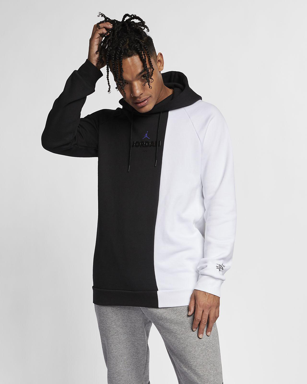 Jordan Sportswear Legacy AJ 11 Men's Fleece Pullover Hoodie