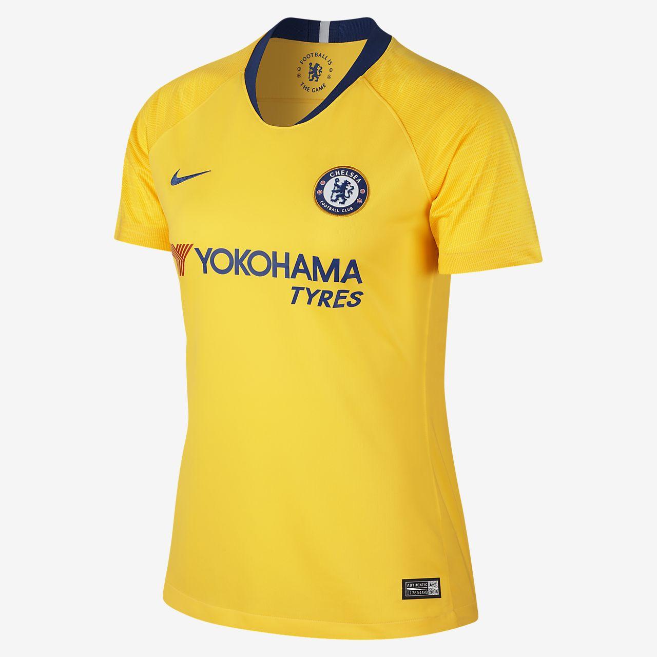 Maillot de football 2018/19 Chelsea FC Stadium Away pour Femme