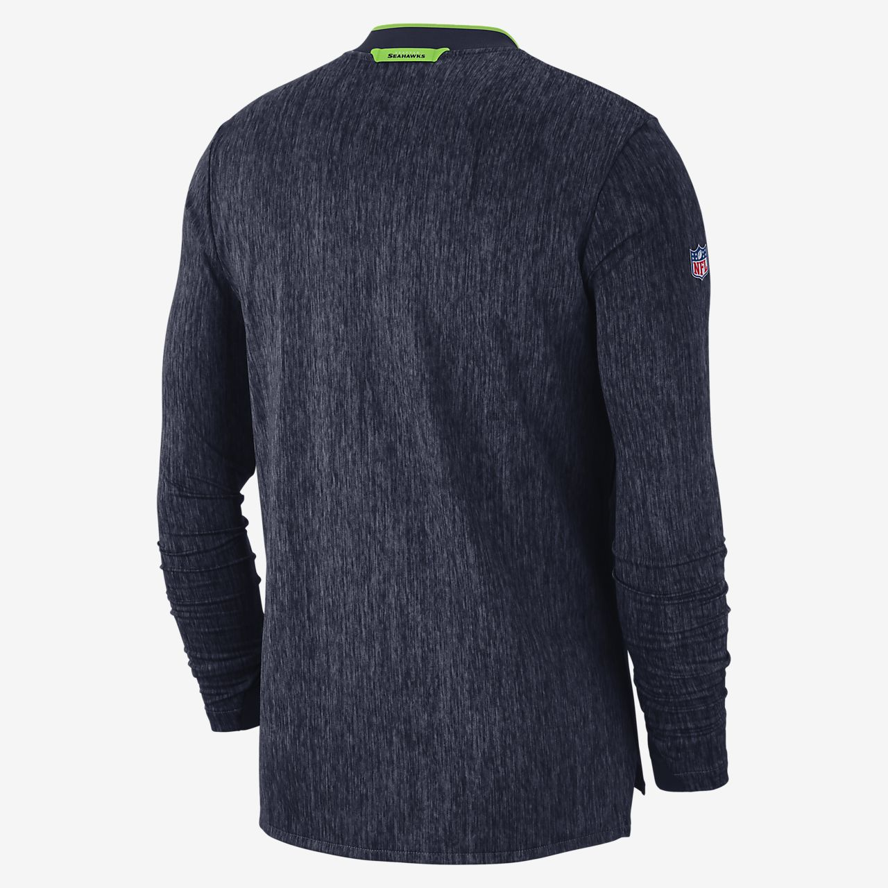 a7227d4b8 Nike Coach (NFL Seahawks) Men s Half-Zip Long Sleeve Top. Nike.com