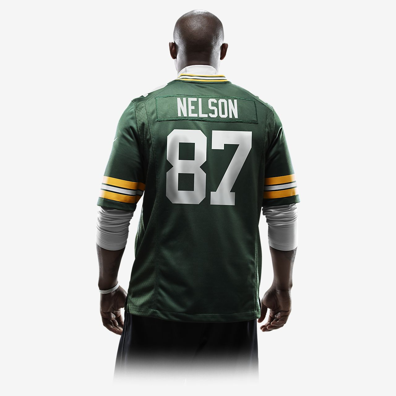 newest 83f35 a2bb4 NFL Green Bay Packers (Jordy Nelson) Men's American Football Home Game  Jersey