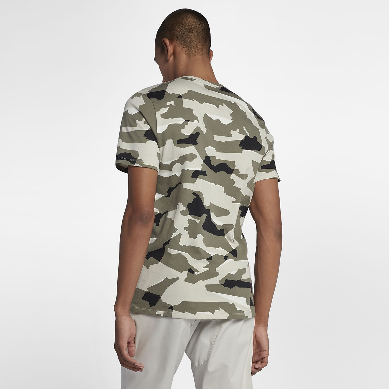 nike herren shirt camouflage