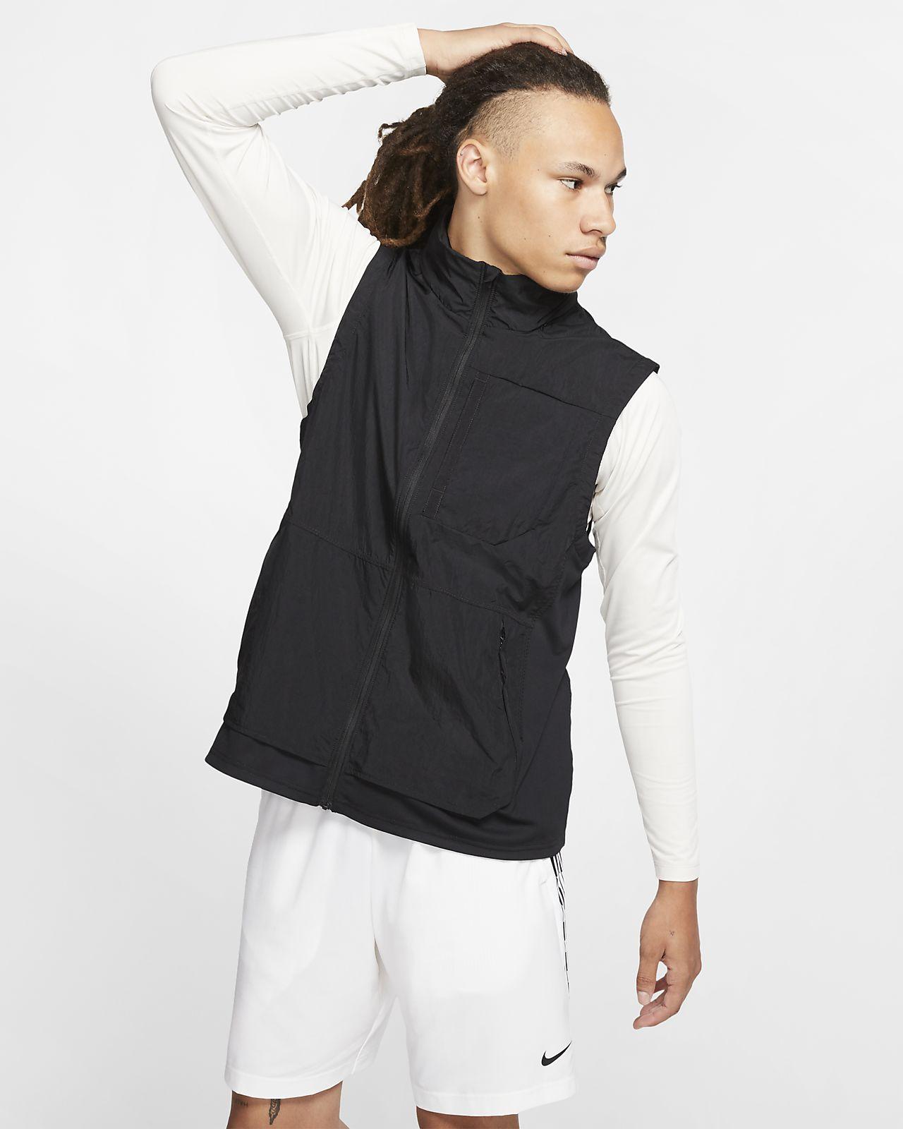 Pánská tréninková vesta Nike s kapucí