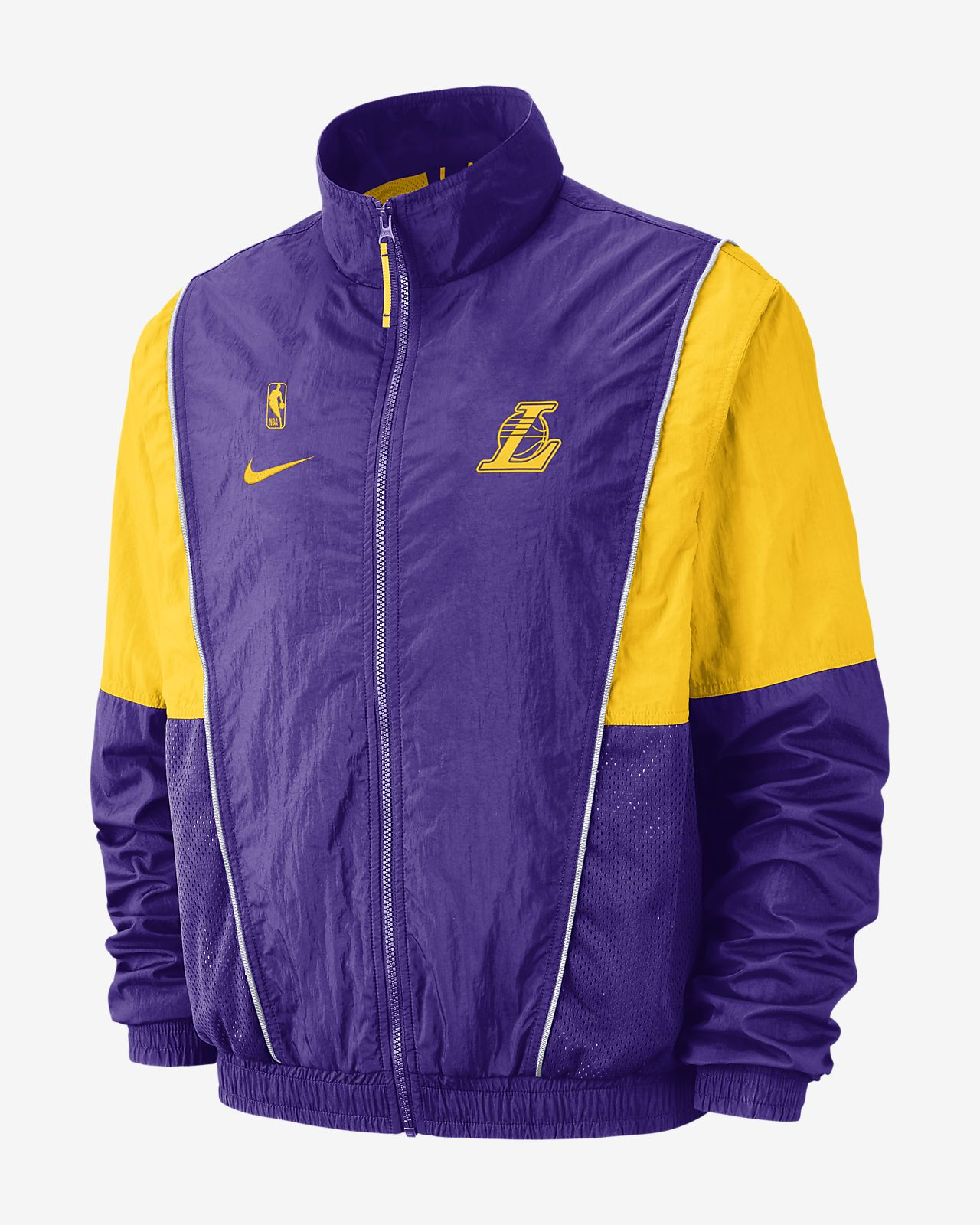 c2c6dac46 Los Angeles Lakers Nike Men s NBA Tracksuit Jacket. Nike.com