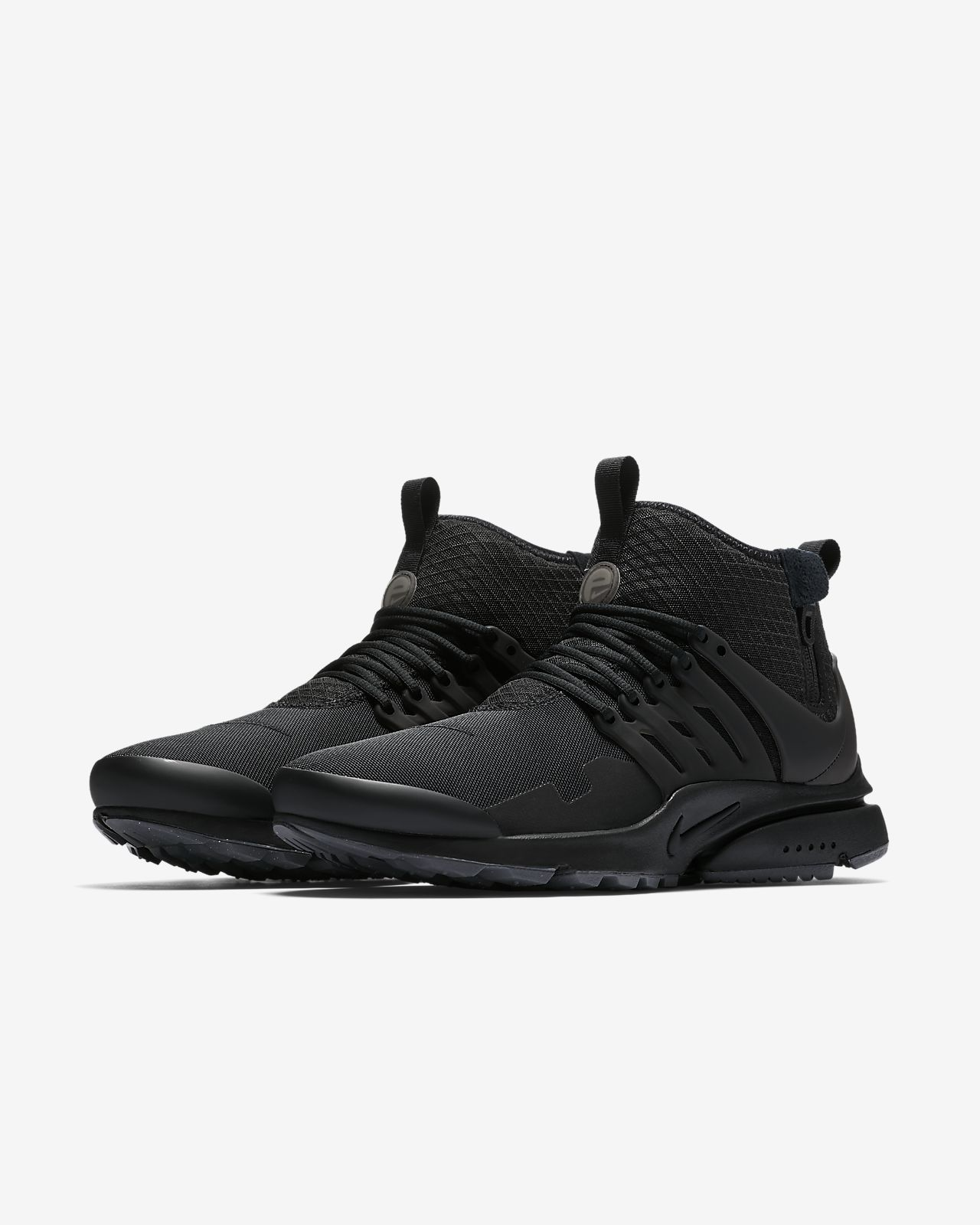 Nike - Air Presto Utility Black - Sneakers Man - 41 EU