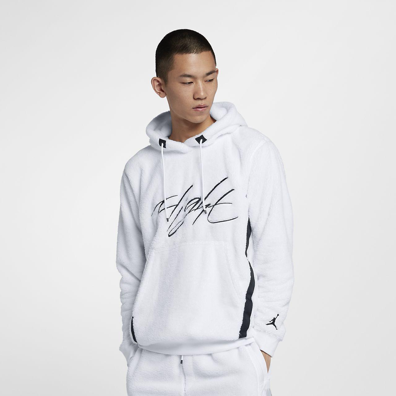 95312f2f1a ... where to buy jordan sportswear wings of flight mens sherpa pullover  hoodie df1b5 f00ad