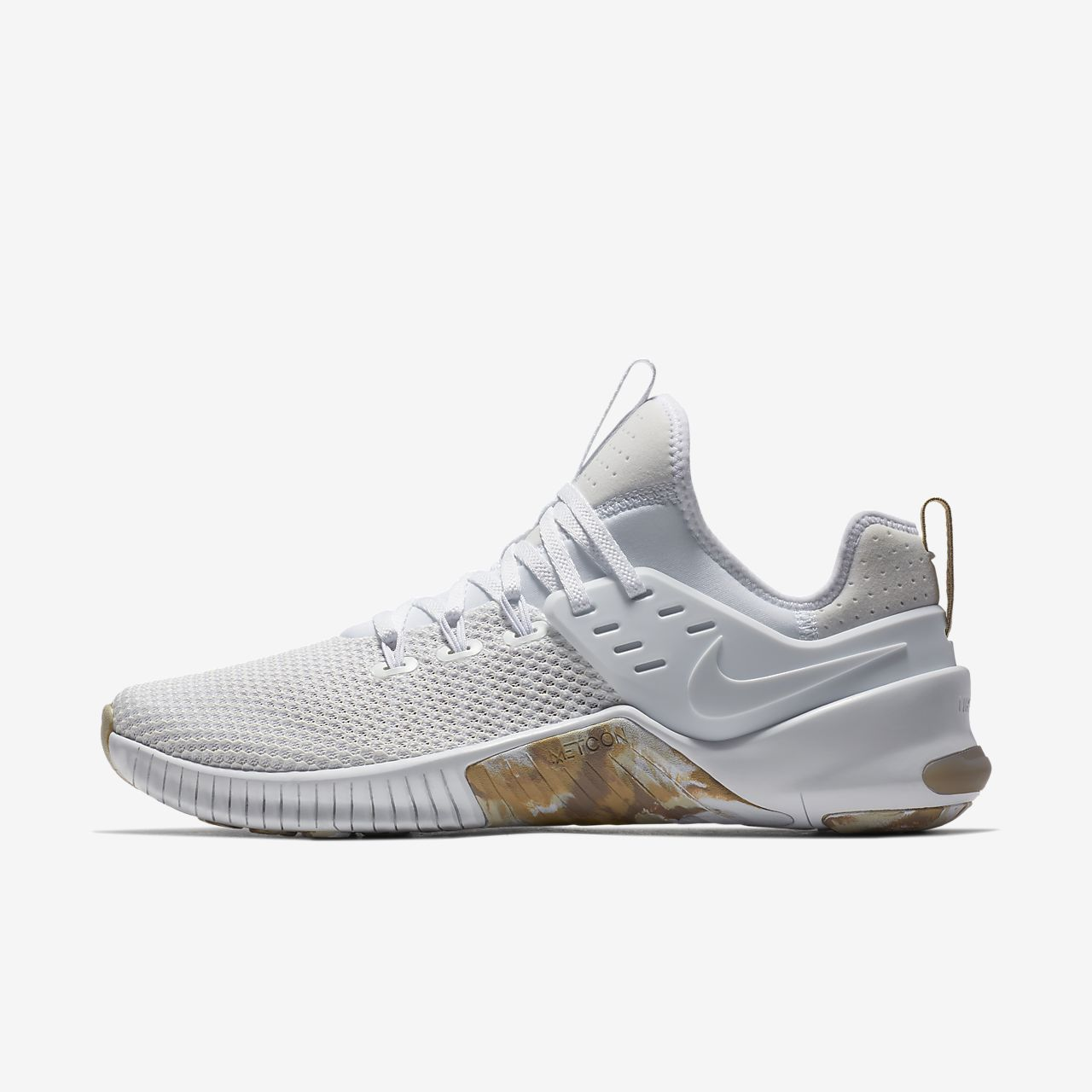 MEN'S NIKE FREE METCON  TRAINING SHOES WHITE / SAND MEN'S SELECT YOUR SIZE