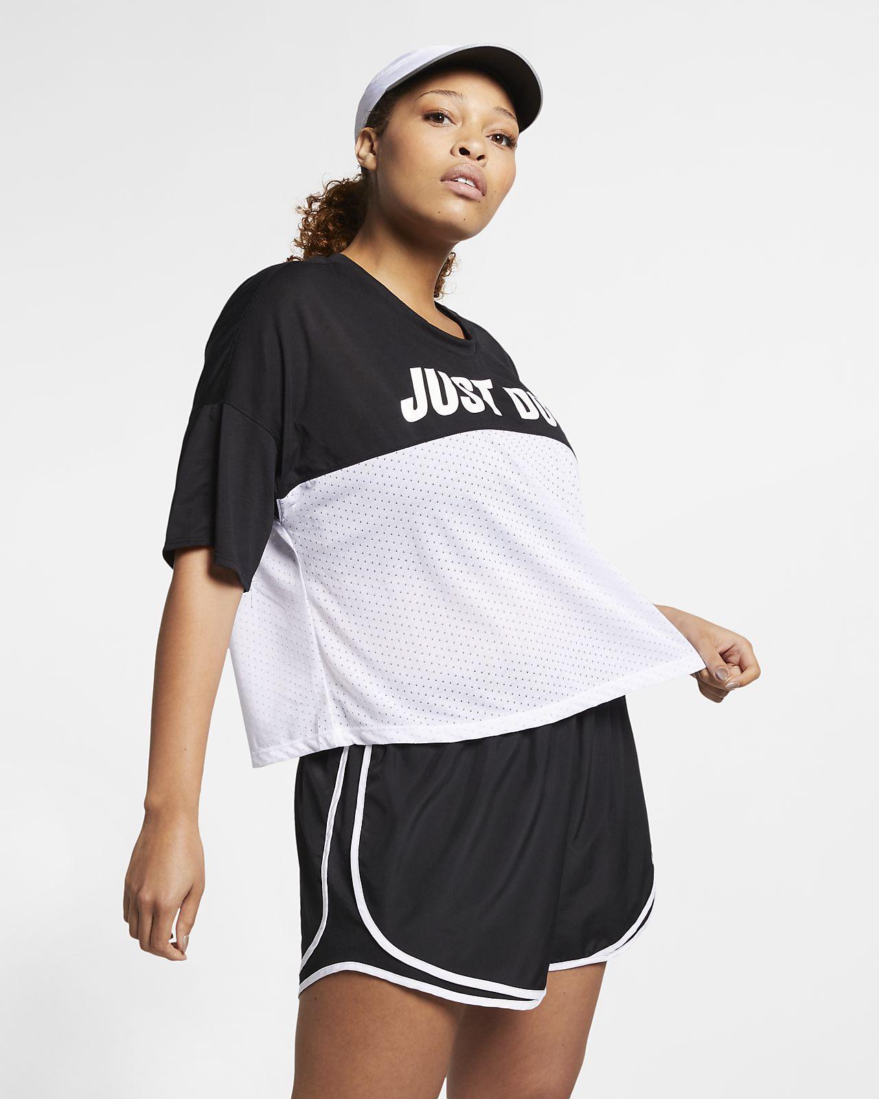 Nike Tailwind Camiseta de running de manga corta (Talla grande) - Mujer d8b60a5e844ab