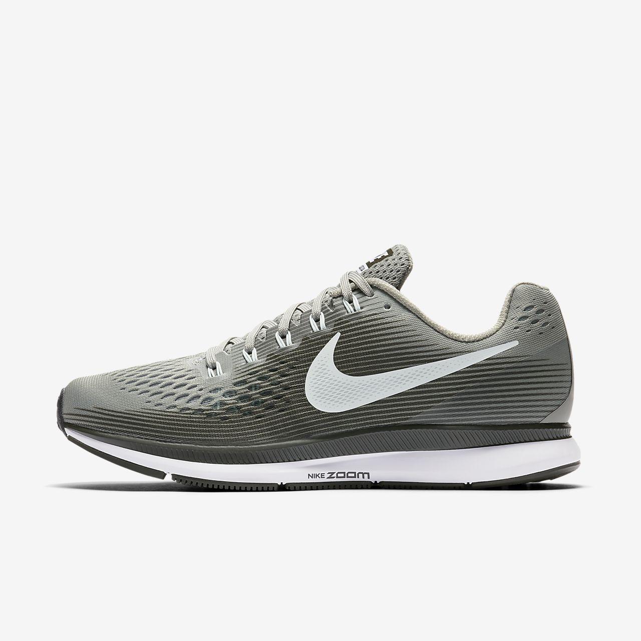 Nike Chaussures de Running Air Zoom Pegasus 34 BleuNoirJaune Fluo Enfant