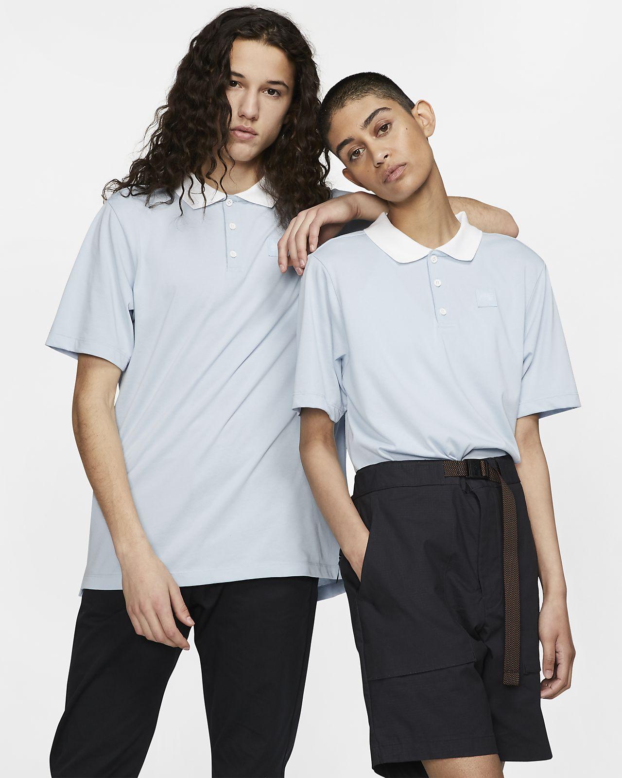 Κοντομάνικη μπλούζα πόλο για skateboarding Nike SB Dri-FIT