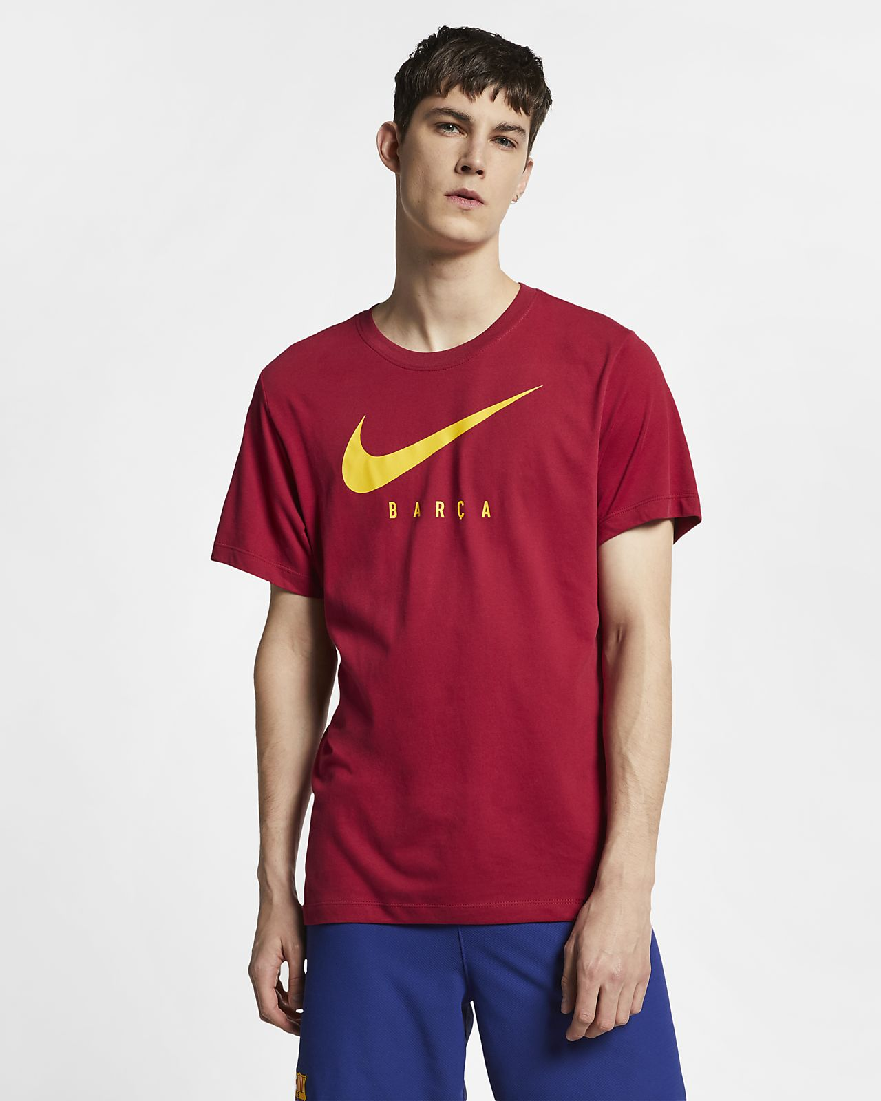 Playera de fútbol para hombre FC Barcelona