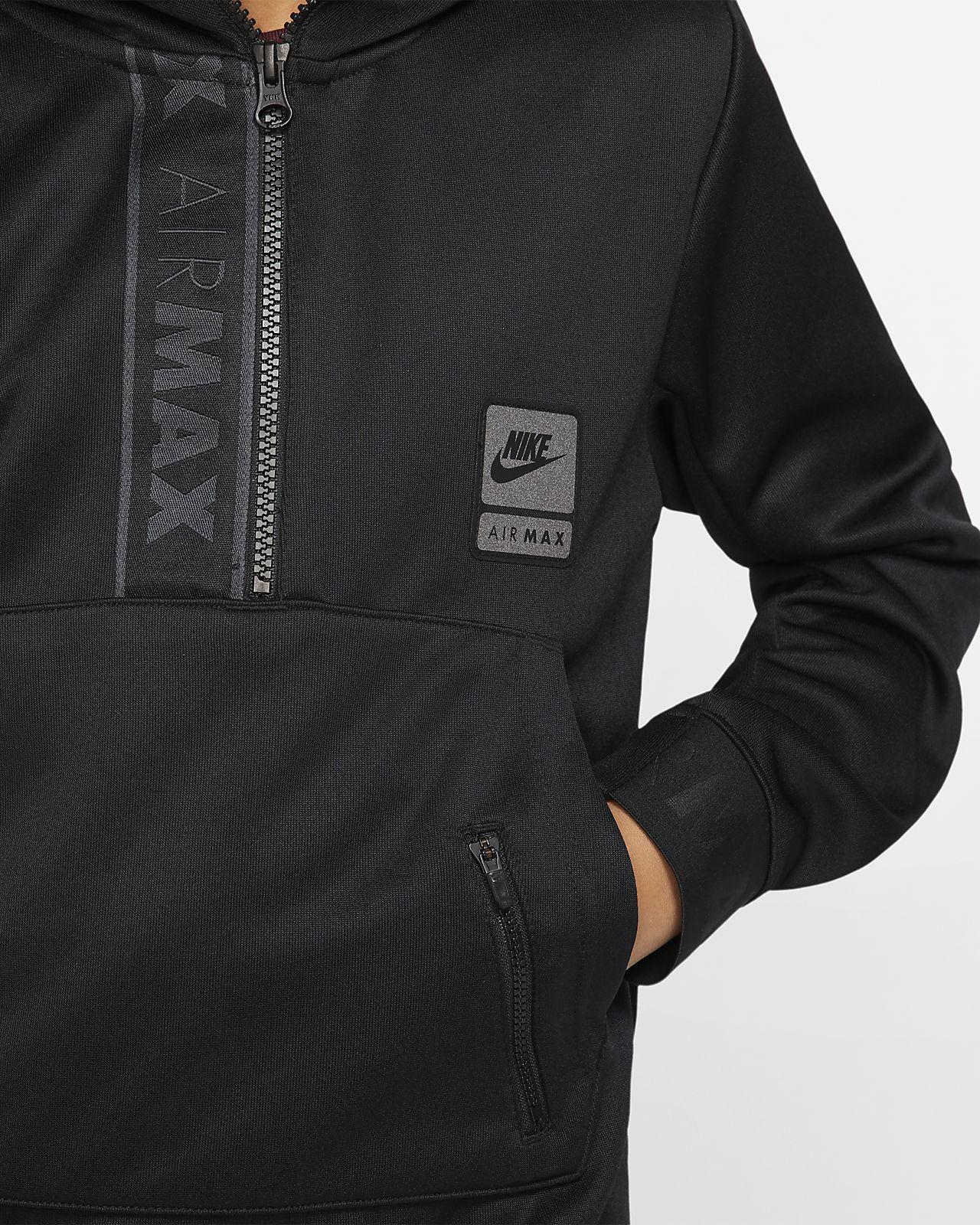 Nike Air Max Older Kids' Half Zip Hoodie