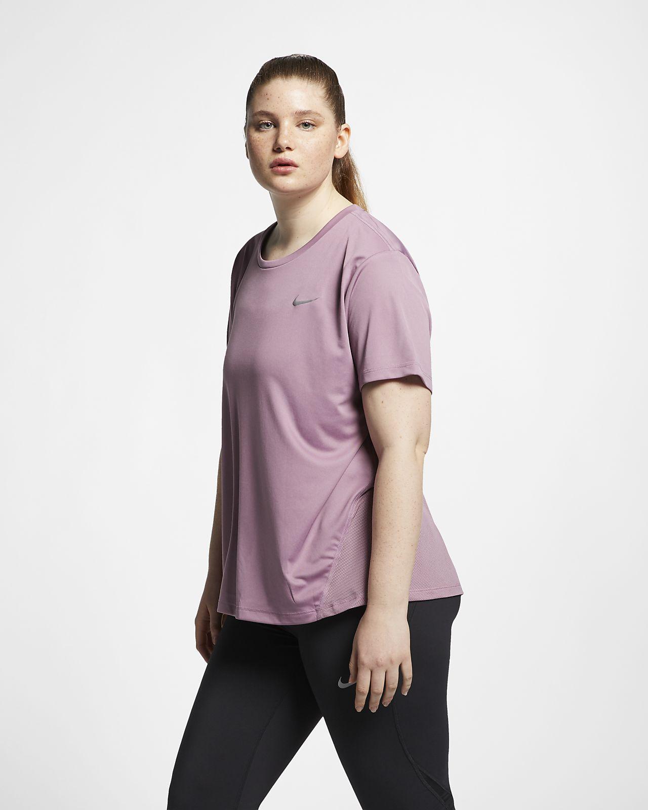 609776b1a89 Nike Miler Women s Short-Sleeve Running Top (Plus Size). Nike.com CA