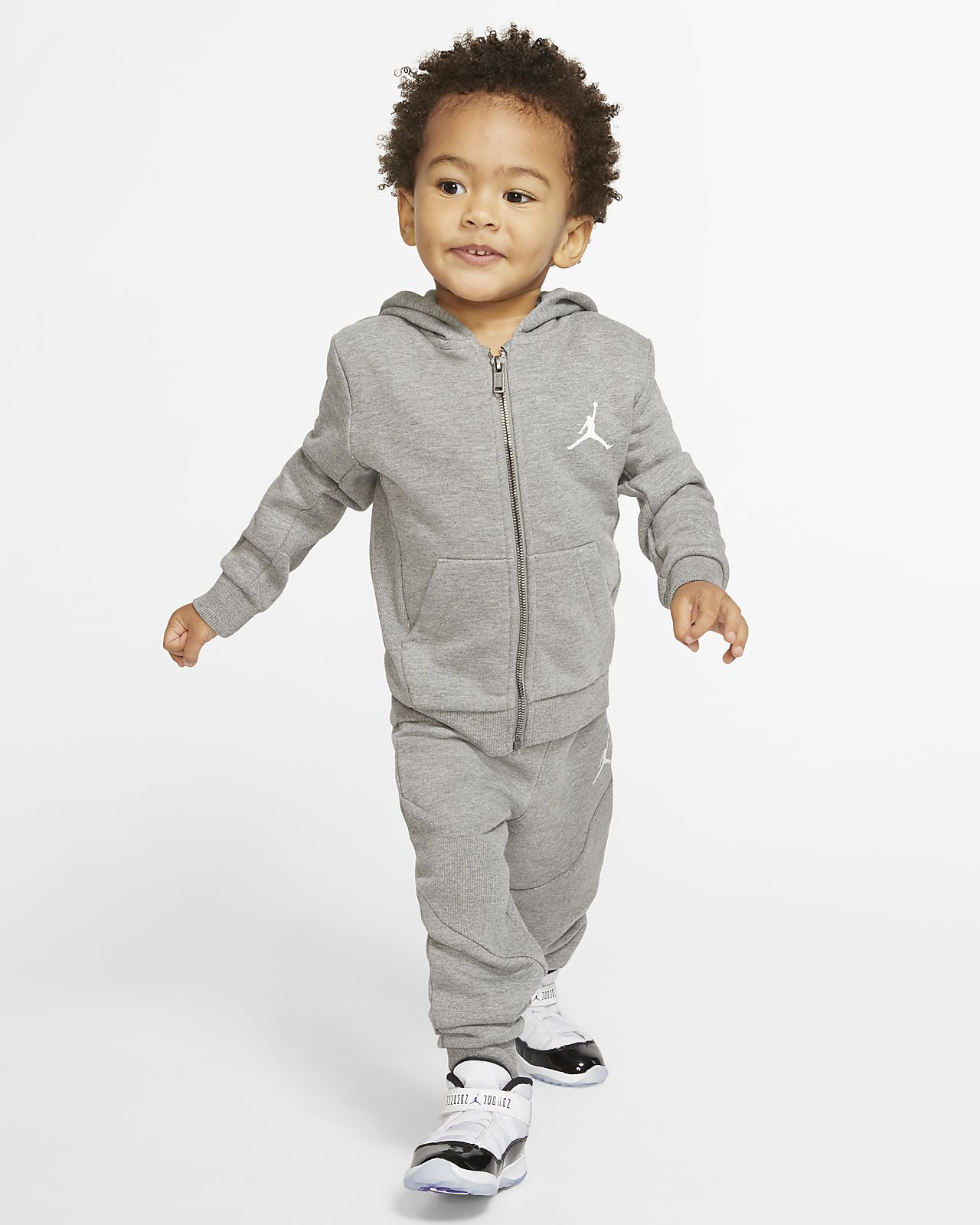 livraison gratuite meilleurs tissus matériaux de haute qualité Sweat à capuche et pantalon de jogging Jordan Jumpman pour Petit enfant  (ensemble 2 pièces)