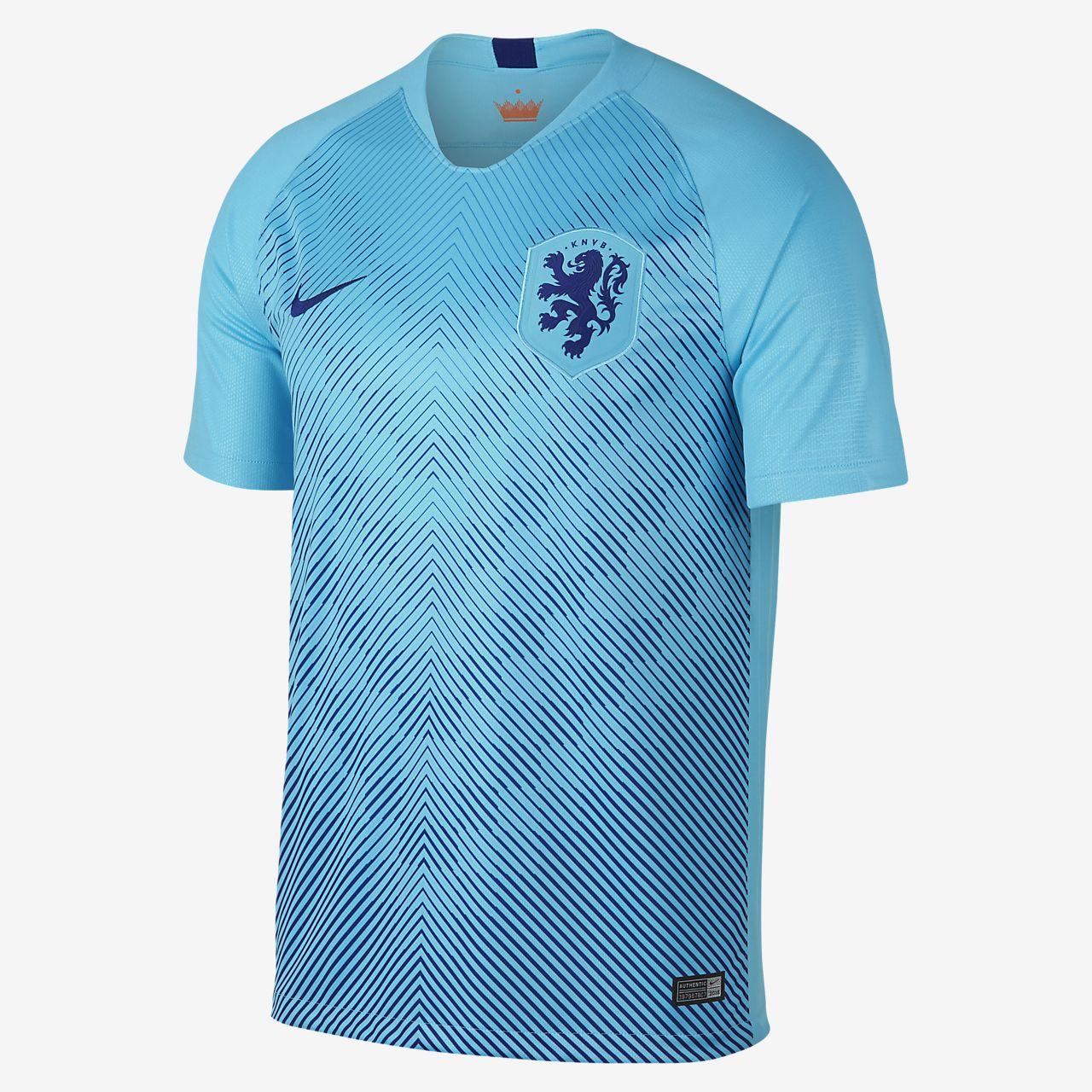 2018 Hollanda Stadyum Deplasman Erkek Futbol Forması