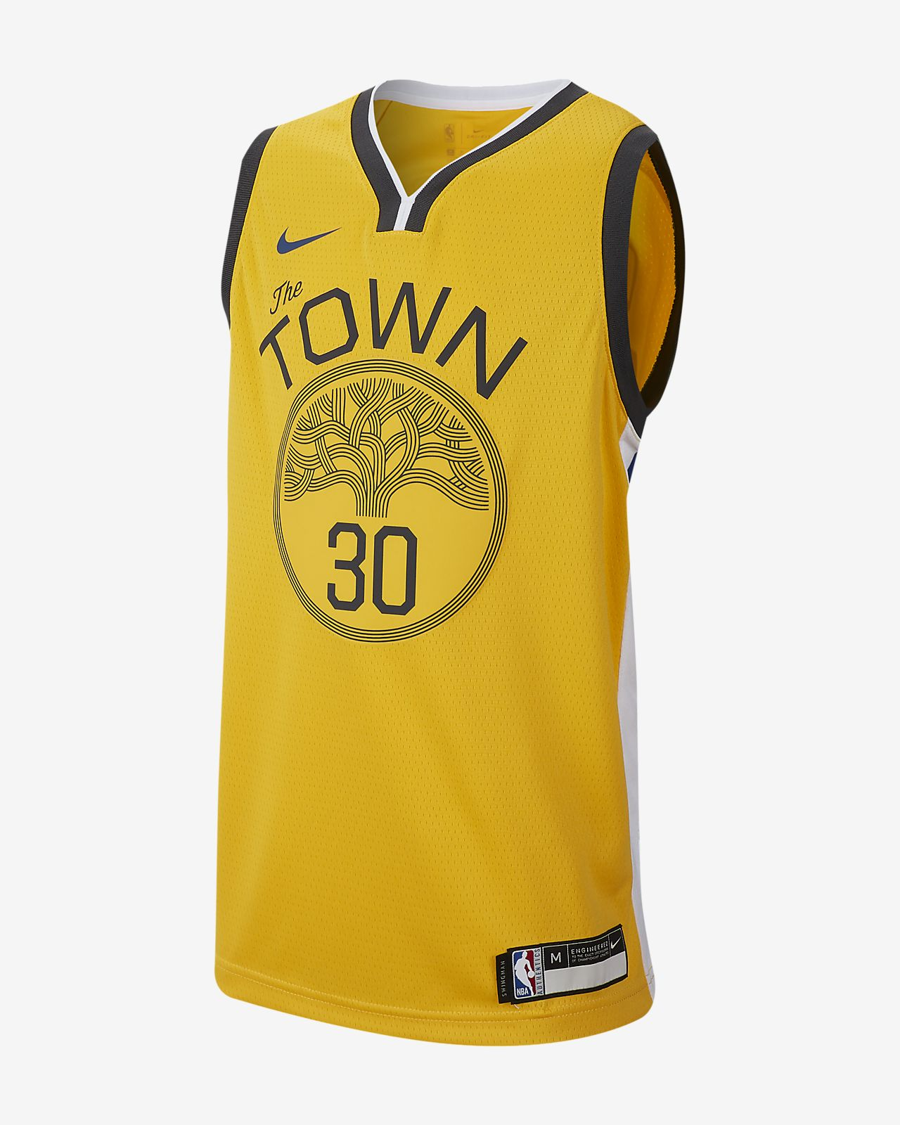 Big Kids  Nike NBA Jersey. Stephen Curry Earned Statement Edition Swingman (Golden  State Warriors) e02f6f4b7