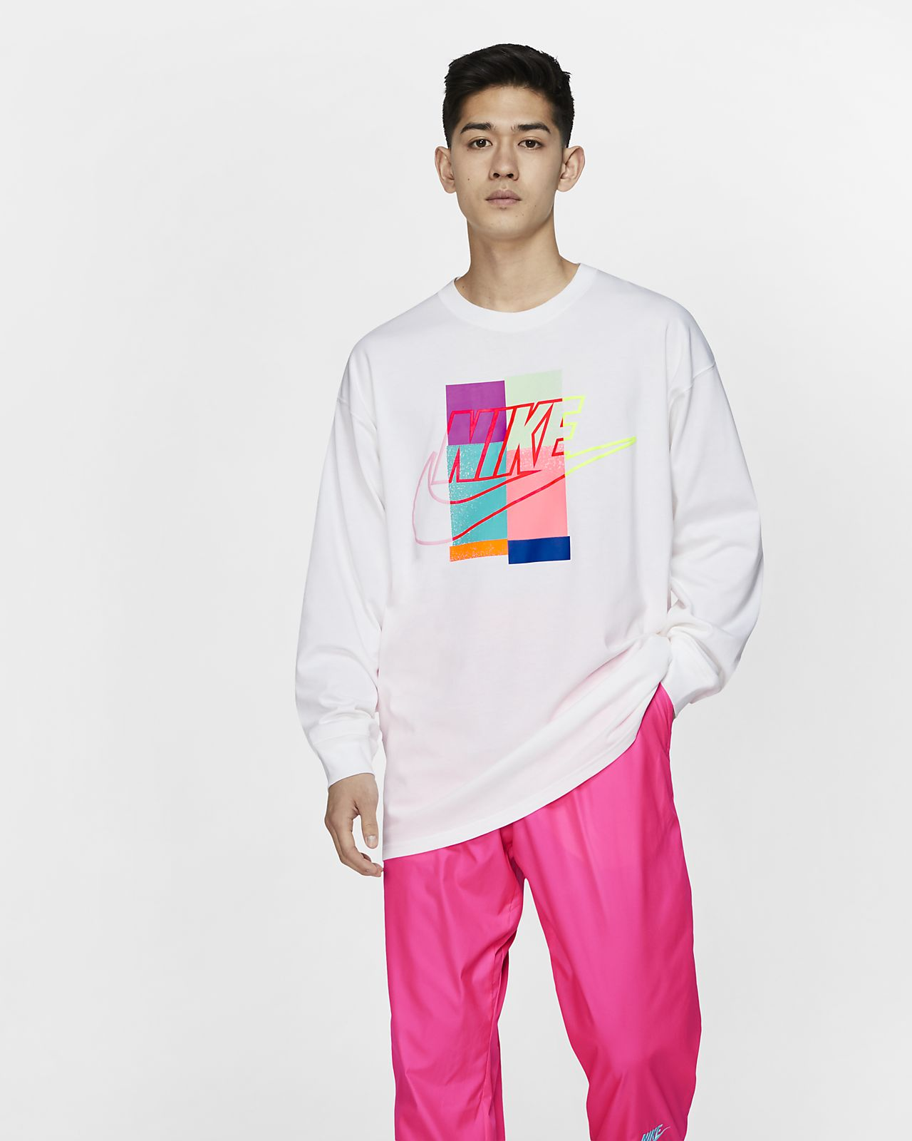 Nike x atmos Langarm-T-Shirt für Herren