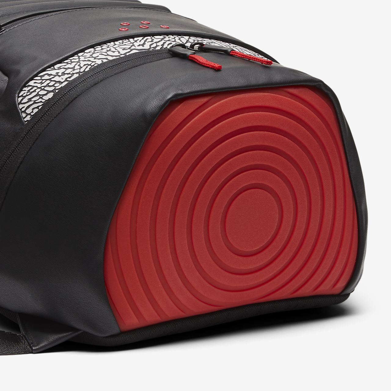 72c0376882 Red And White Jordan Retro Backpack- Fenix Toulouse Handball