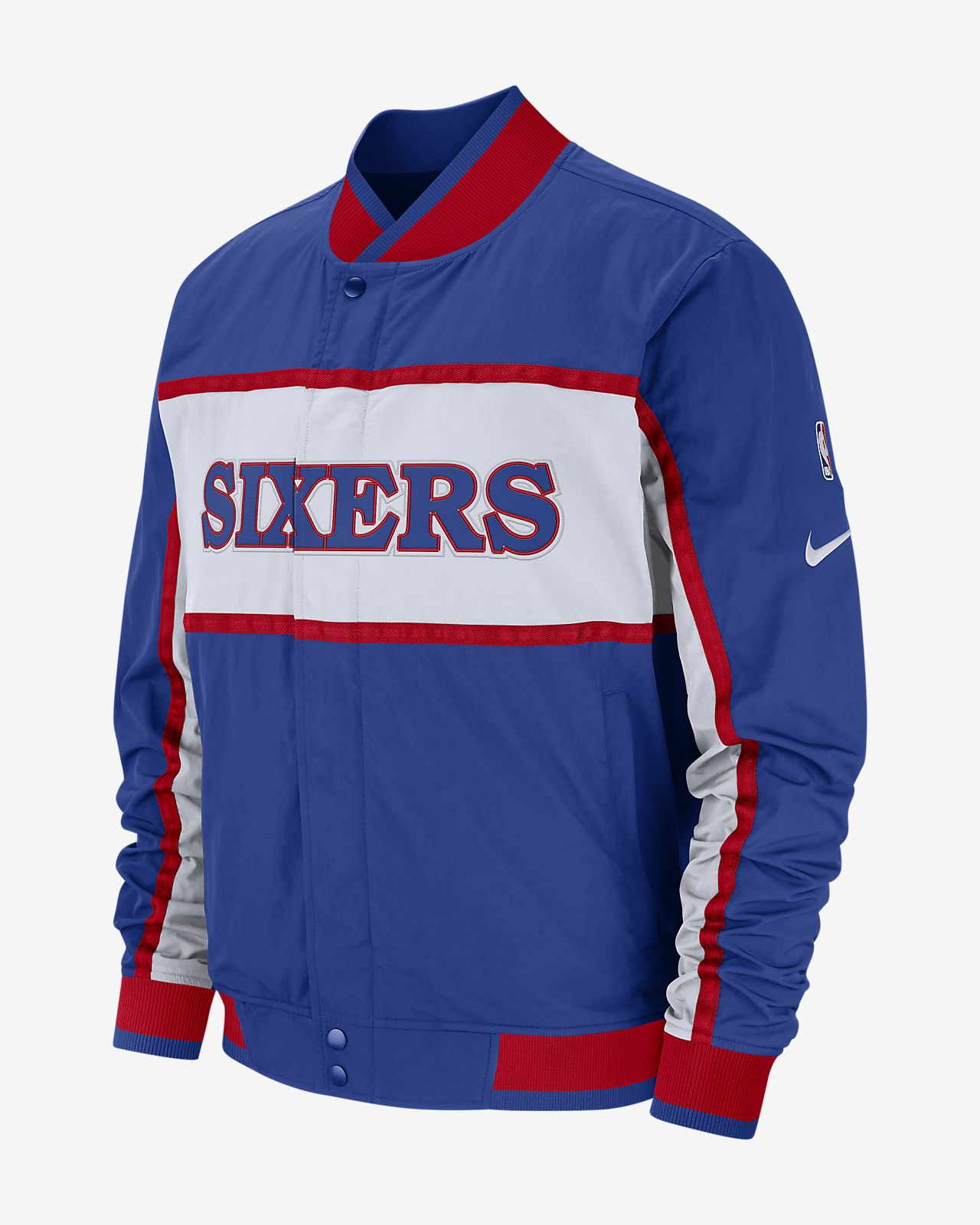 6a43f57dc25 Philadelphia 76ers Nike Courtside Men's NBA Jacket. Nike.com