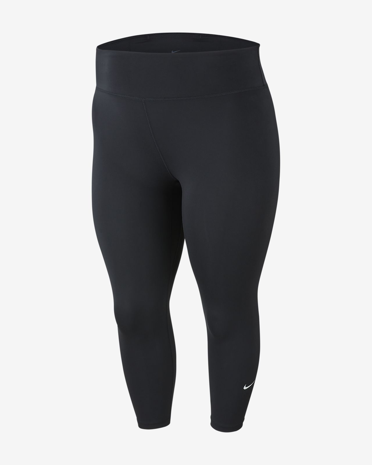 Tights Nike One i trekvartslängd för kvinnor (större storlekar)