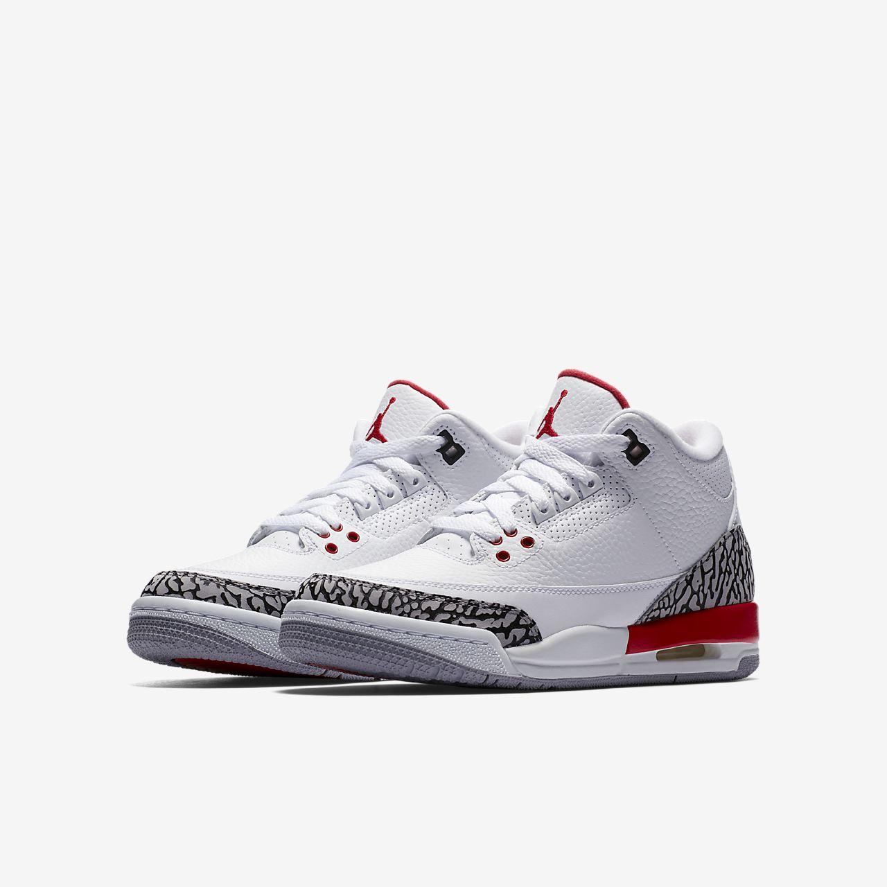 sports shoes c162d 81620 Air Jordan 3 Retro Kids' Shoe