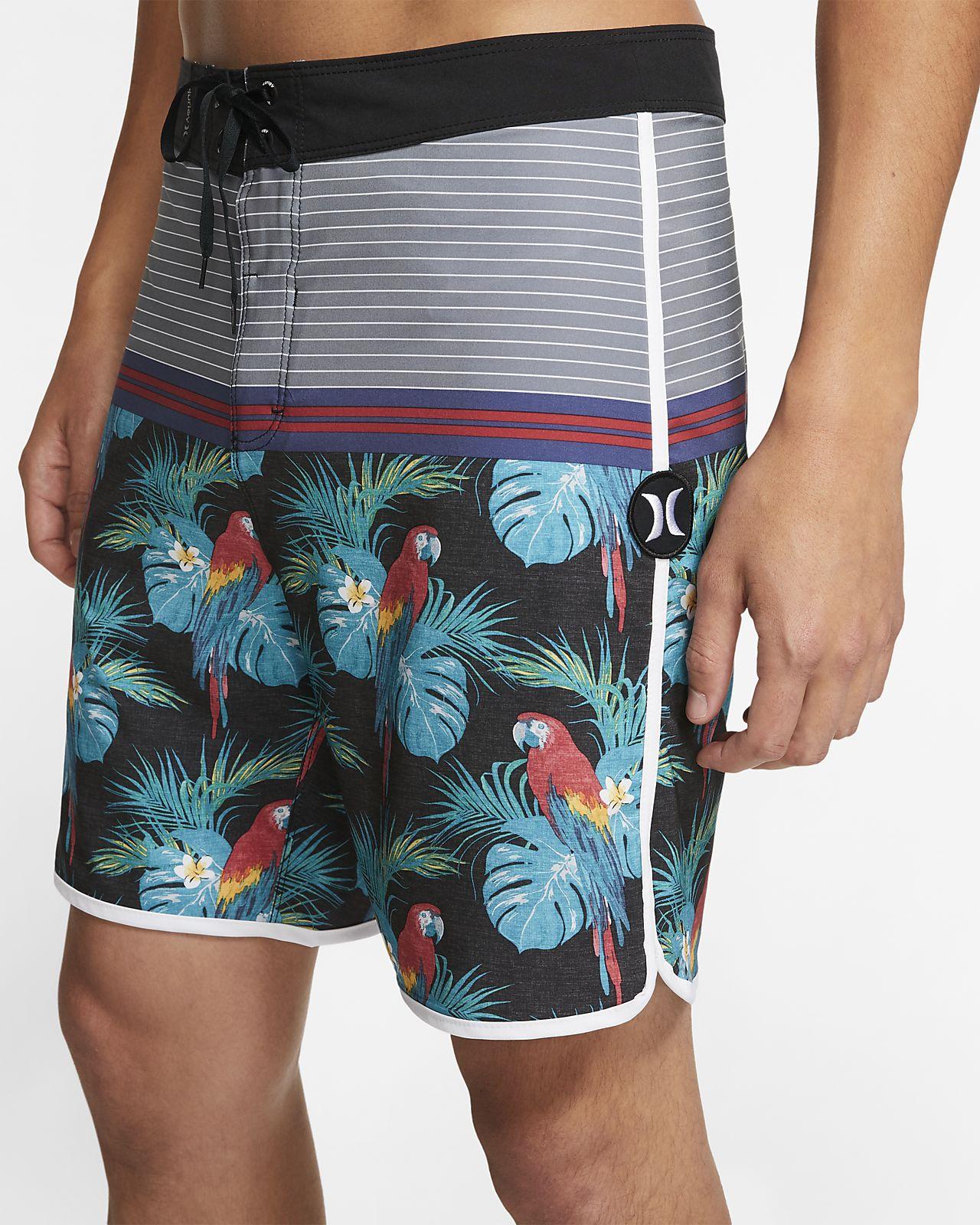 Shorts de playa de 46 cm para hombre Hurley Phantom Sierra