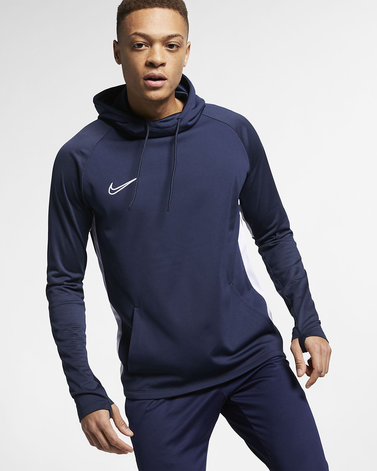 d0f7b5ad Nike Dri-FIT Academy Men's Football Pullover Hoodie. Nike.com SK