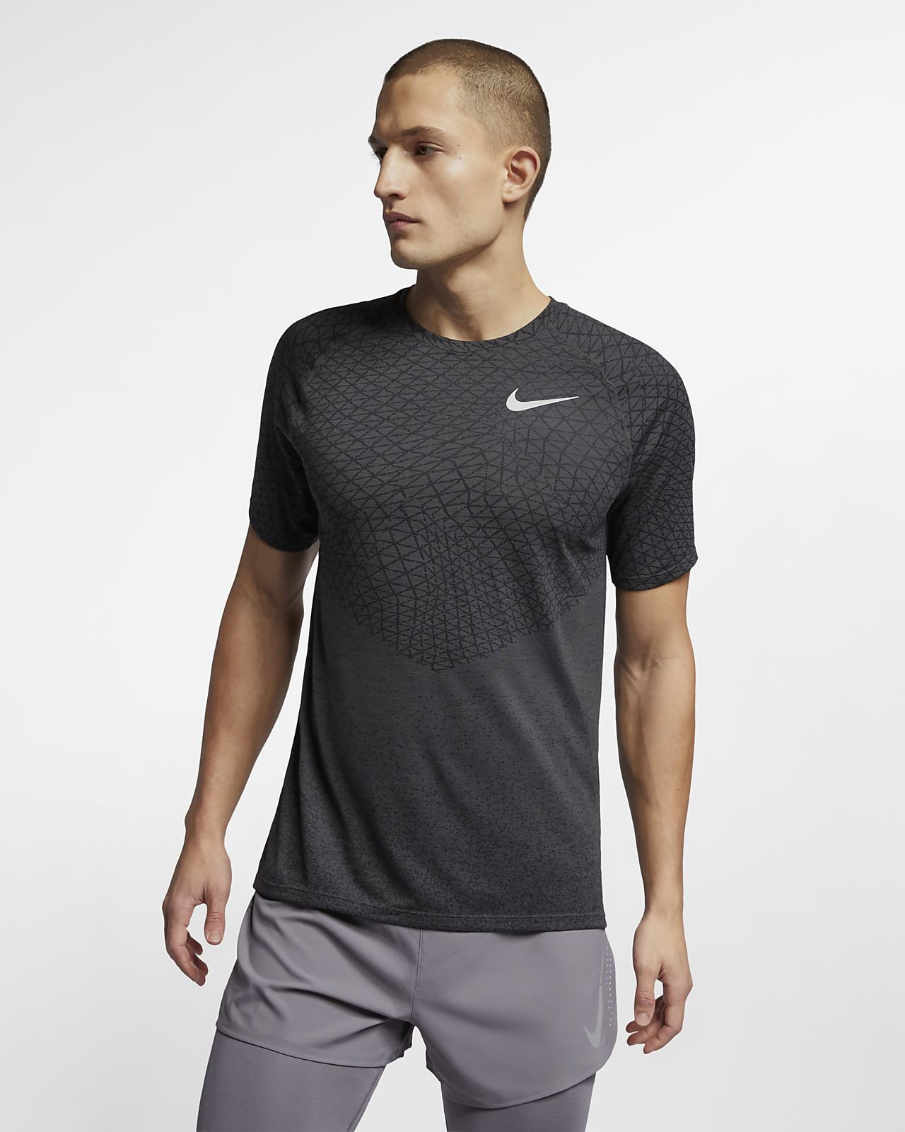 Nike Medalist 男子短袖跑步上衣