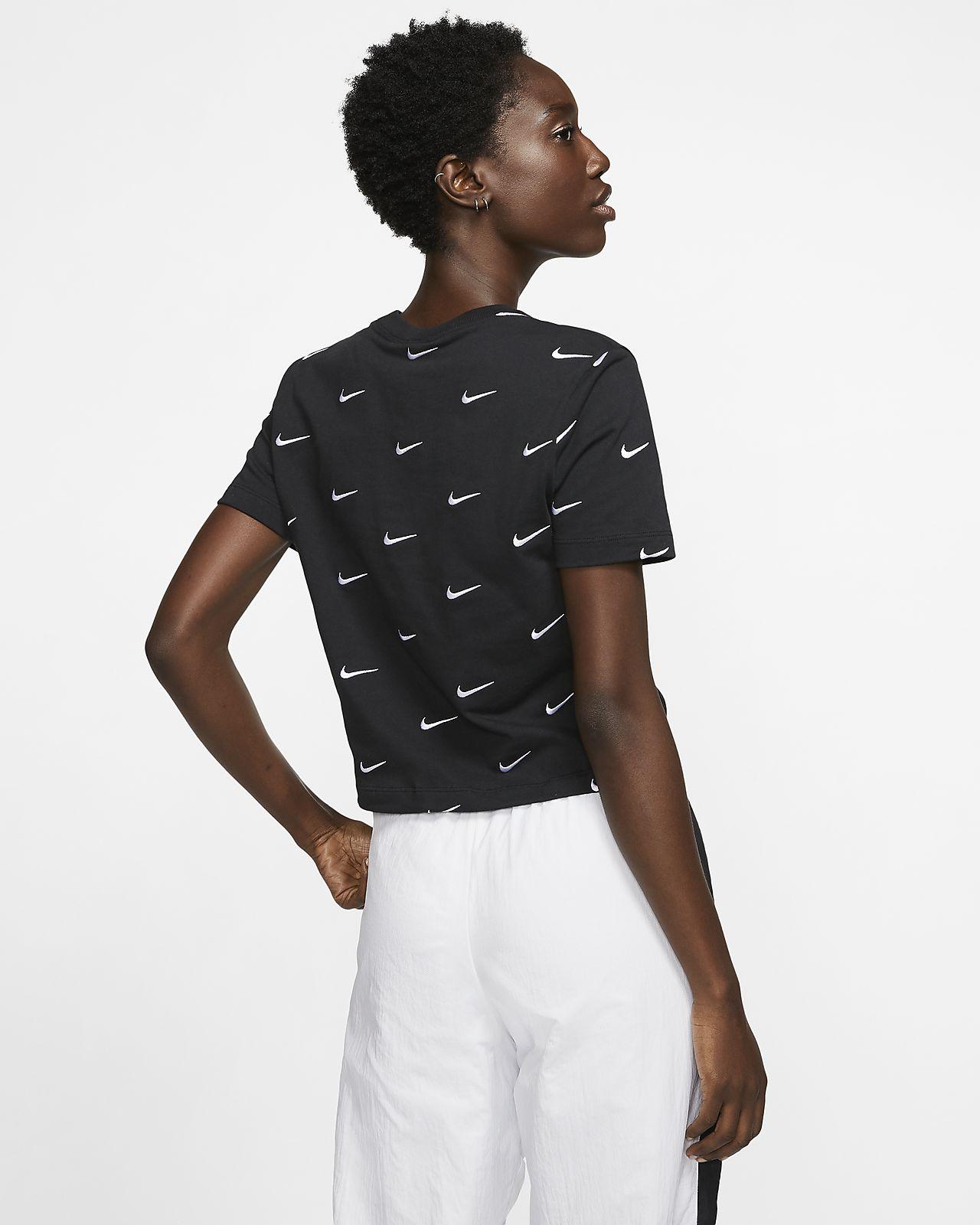 Nike Women's Swoosh Logo T Shirt
