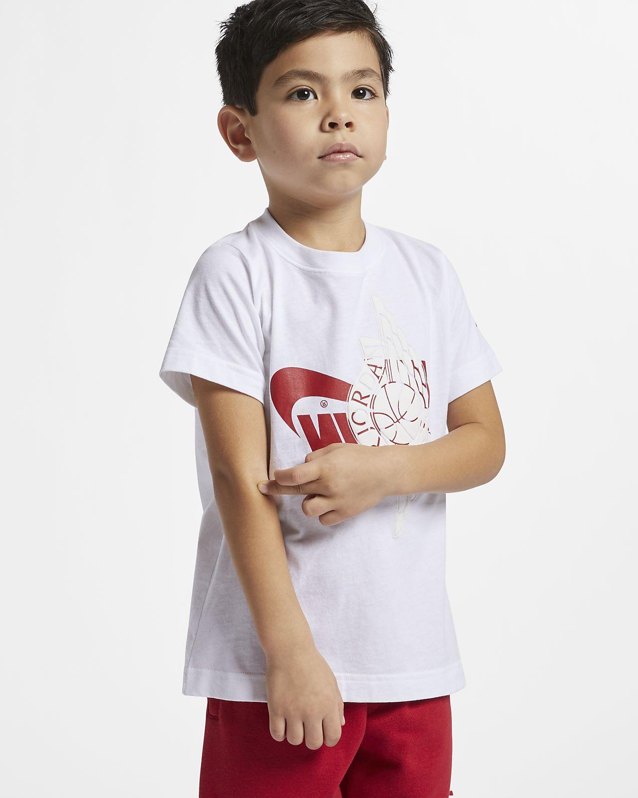 T-shirt Jordan Sportswear Wings para criança