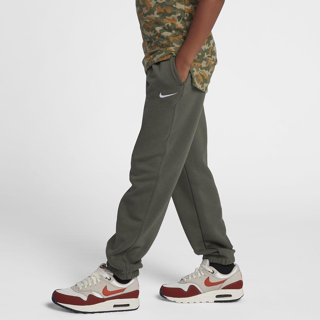 Joggingbroek Jongens.Nike Brushed Fleece Cuffed Joggingbroek Jongens Nike Com Nl