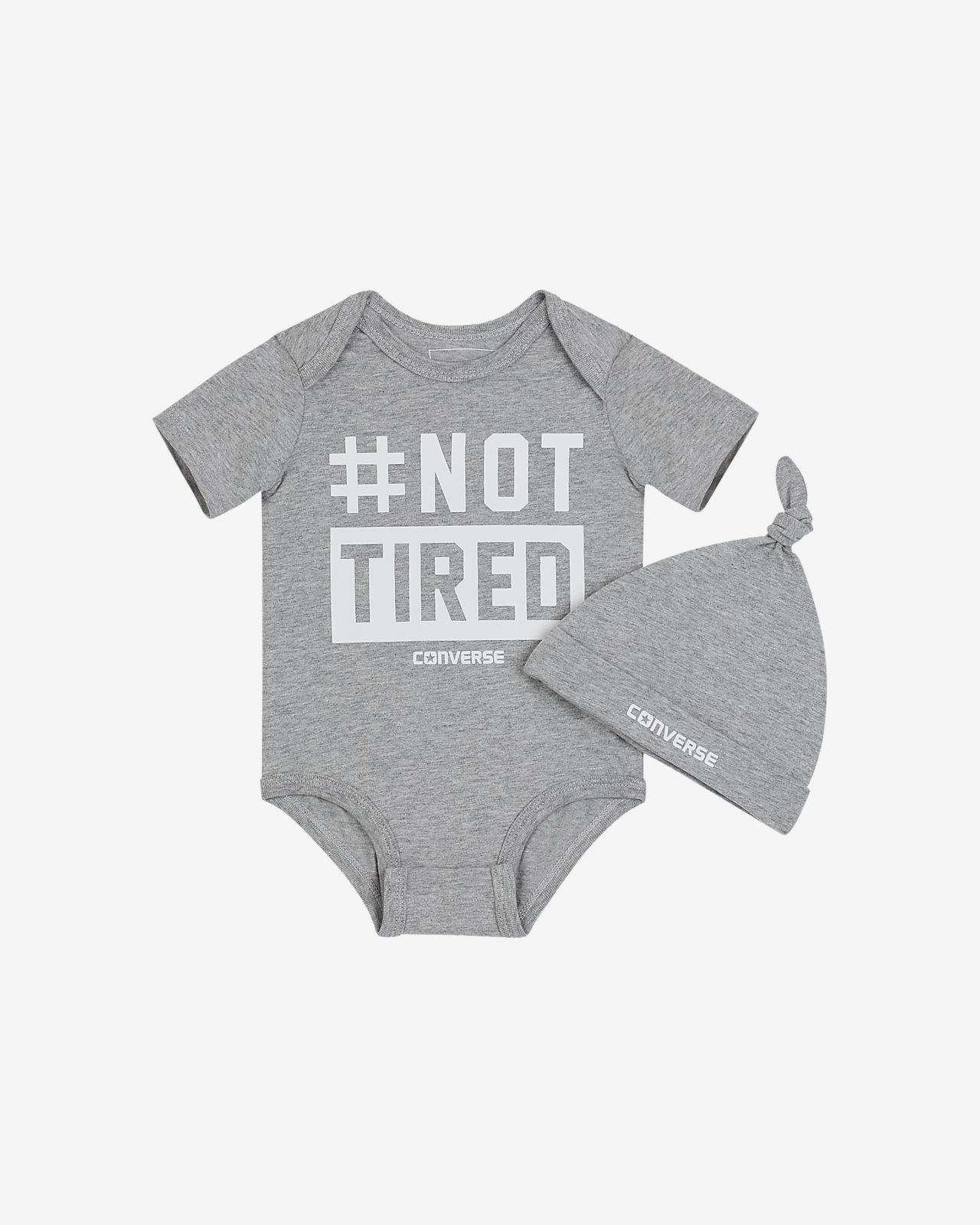 Converse Not Tired  Infant Set