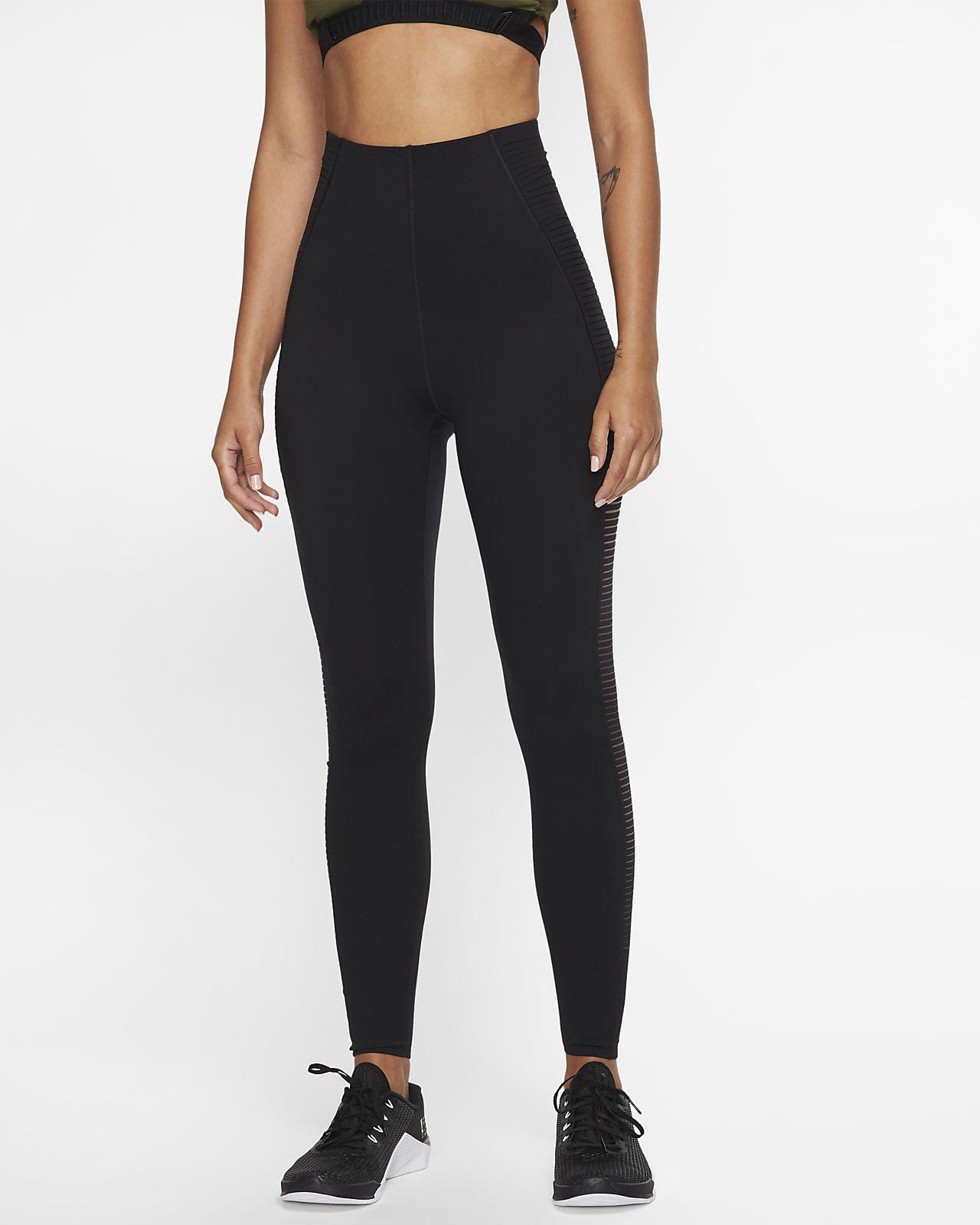 Женские тайтсы для тренинга с прорезями Nike
