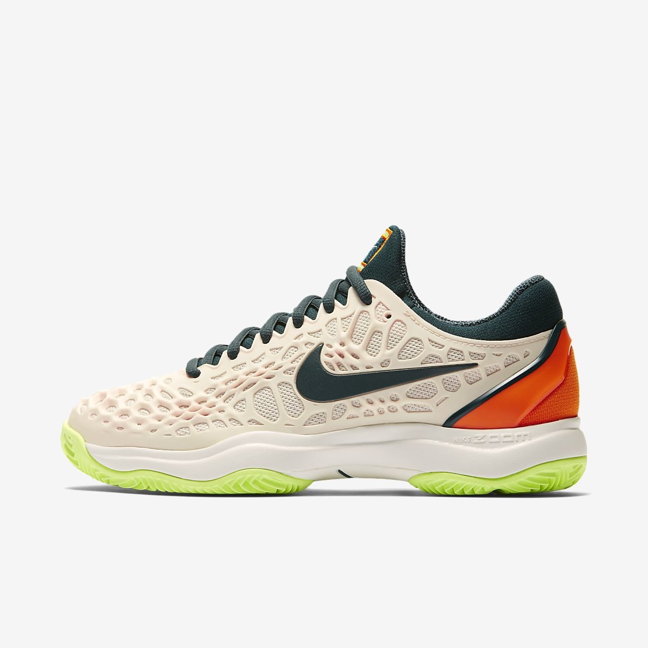Женские теннисные кроссовки Nike Zoom Cage 3 Clay. Nike.com RU 6785fb172c7a8
