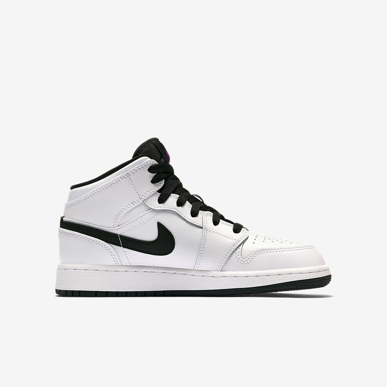 ... Air Jordan 1 Mid Older Kids' Shoe