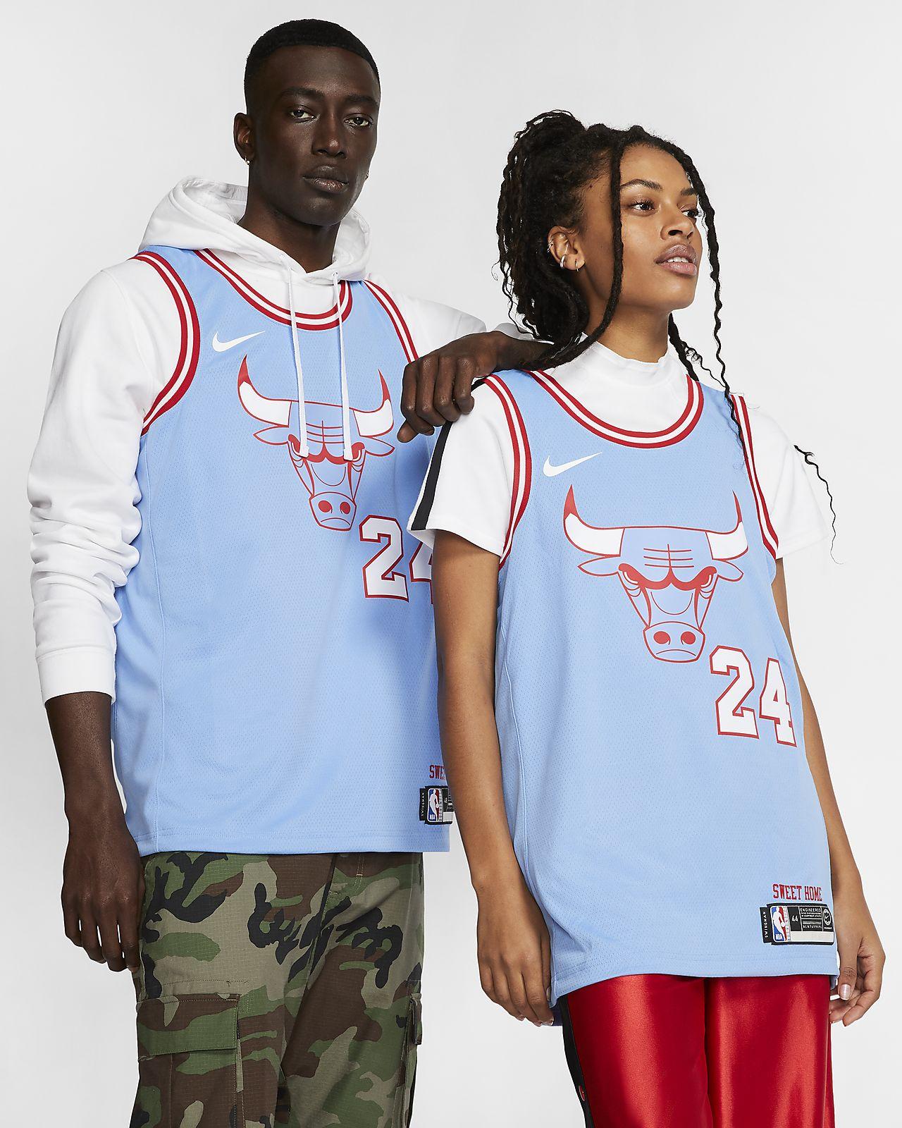 Lauri Markkanen Bulls – City Edition Nike NBA Swingman Trikot