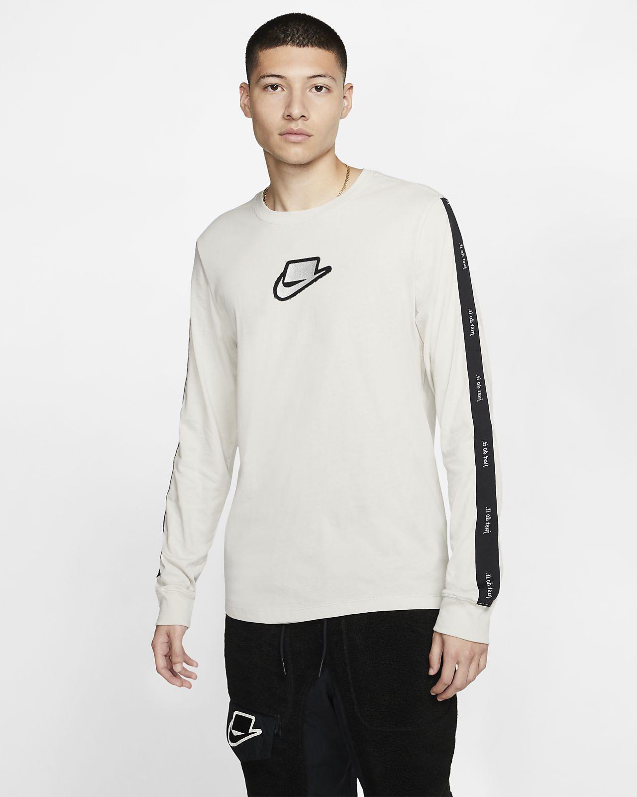 Camisola de manga comprida Nike Sportswear NSW para homem