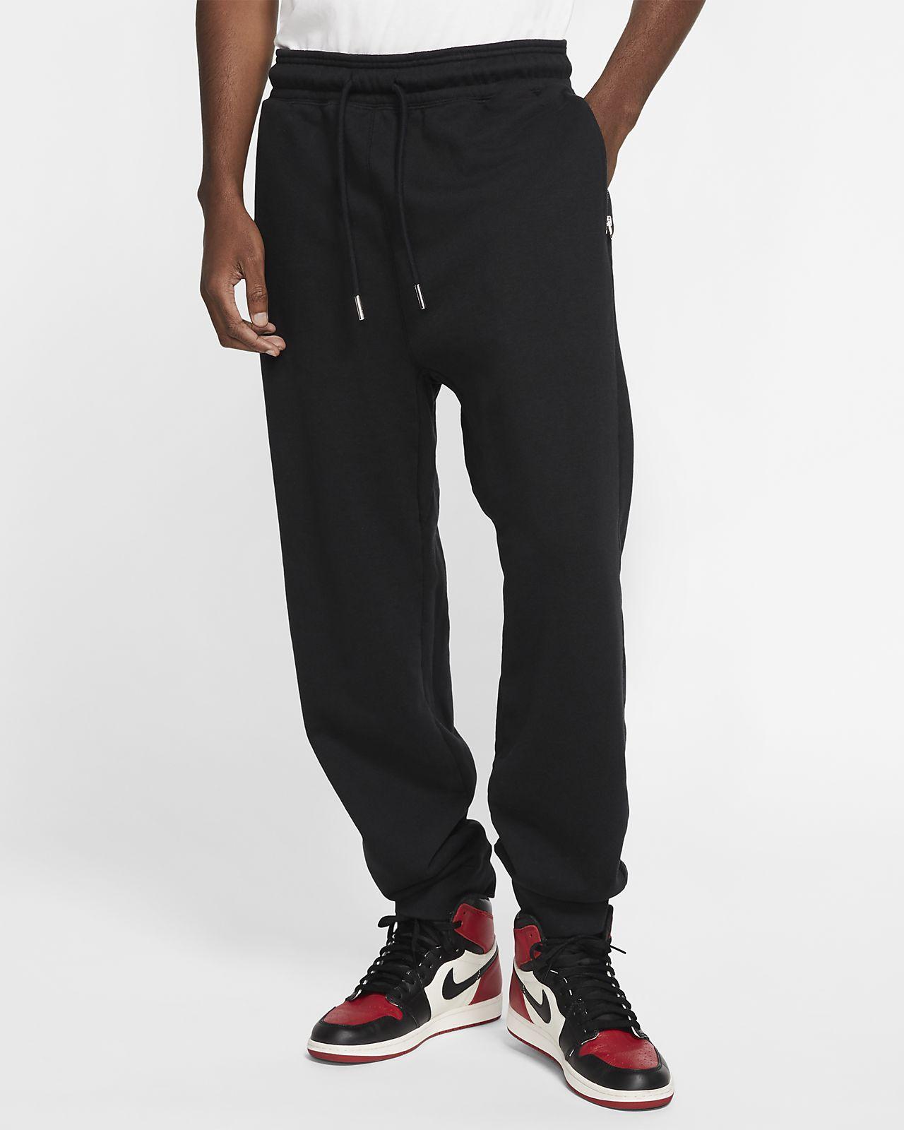 Jordan Black Cat Fleece-Hose