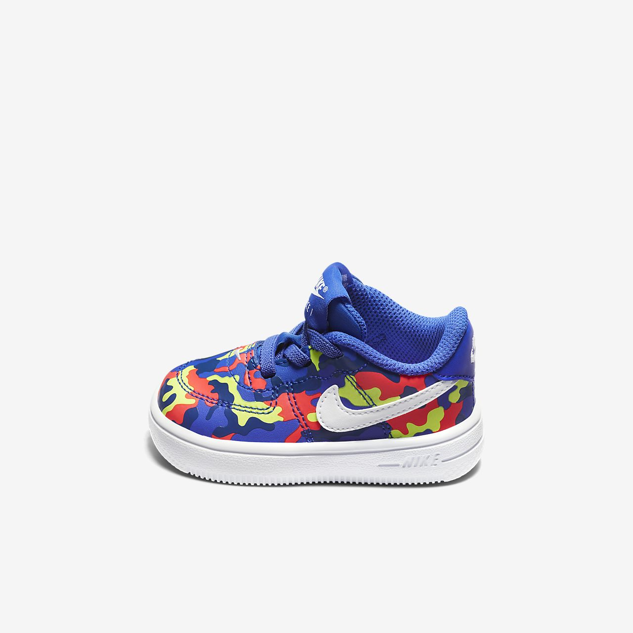 0829a4f1d328 Nike Force 1 18 Print Baby  amp  Toddler Shoe. Nike.com CH
