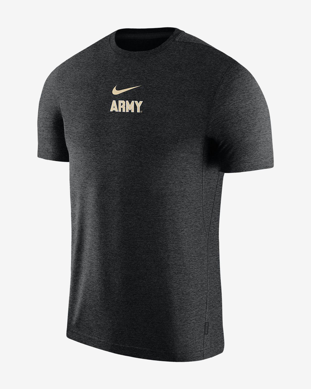 Nike College Dri-FIT Coach (Army) Men's Short-Sleeve Top