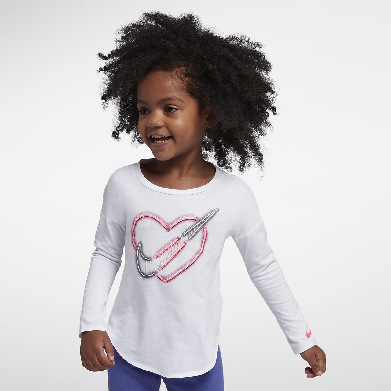 Tričko s dlouhým rukávem Nike pro kojence