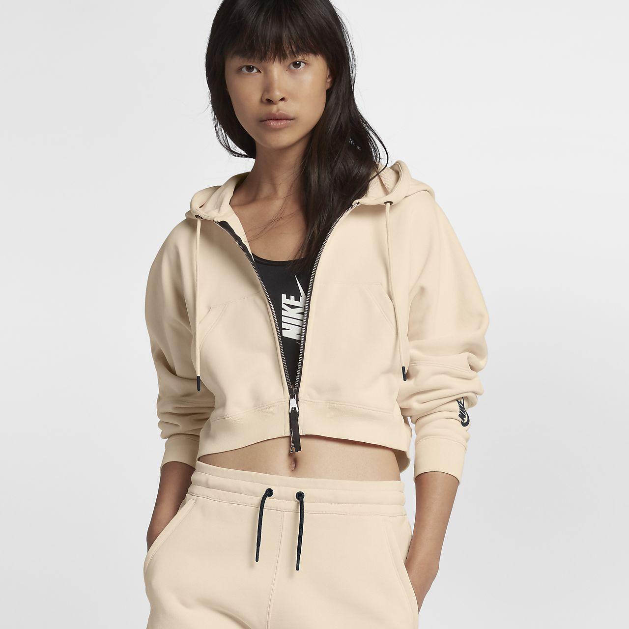 เสื้อมีฮู้ดผู้หญิง NikeLab Collection