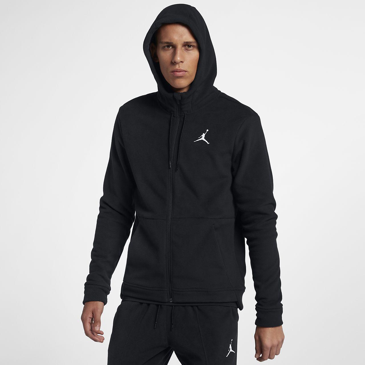 เสื้อเทรนนิ่งมีฮู้ดซิปยาวผู้ชาย Jordan Therma 23 Alpha