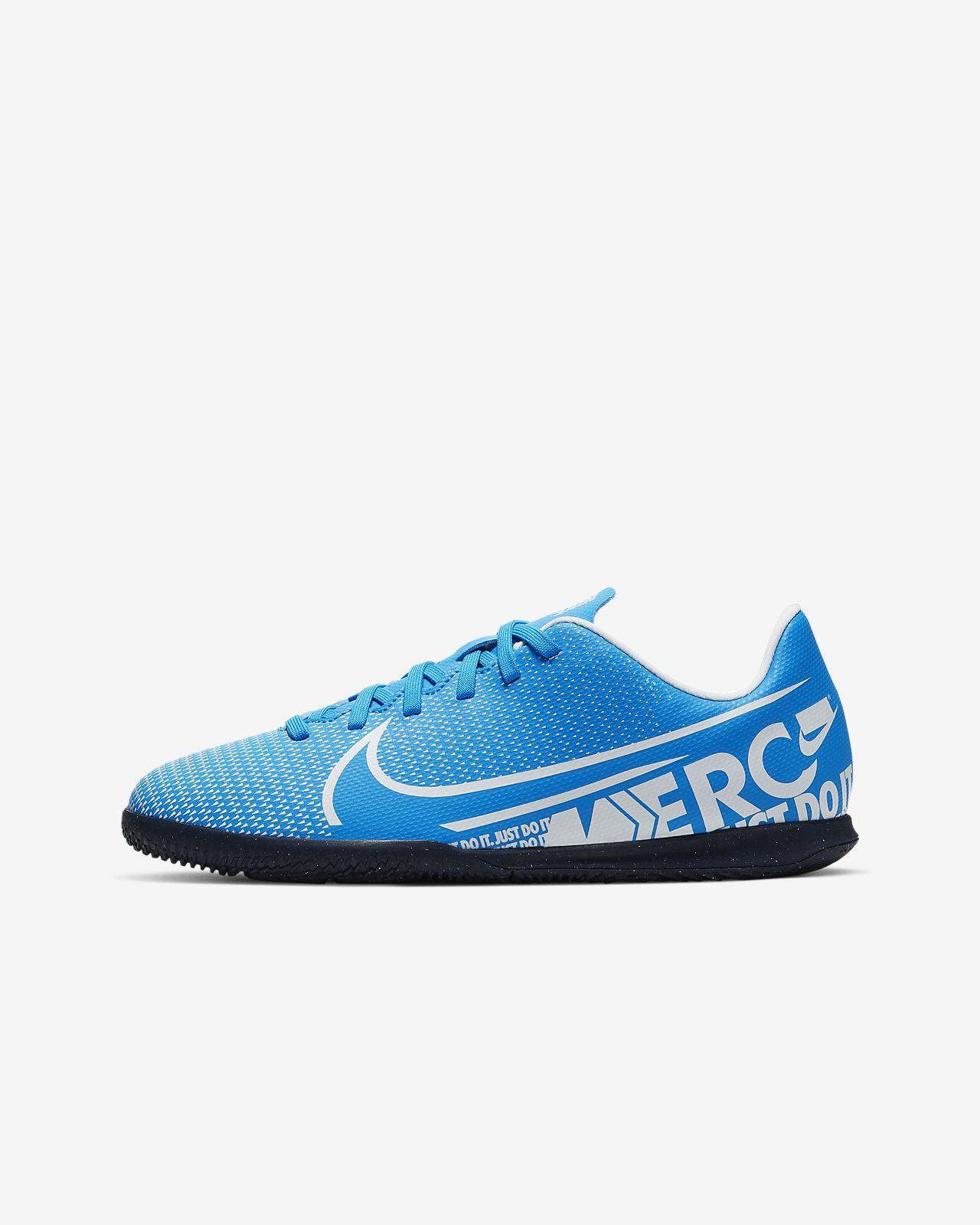 Chaussure de football en salle Nike Jr. Mercurial Vapor 13 Club IC pour Jeune enfantEnfant plus âgé
