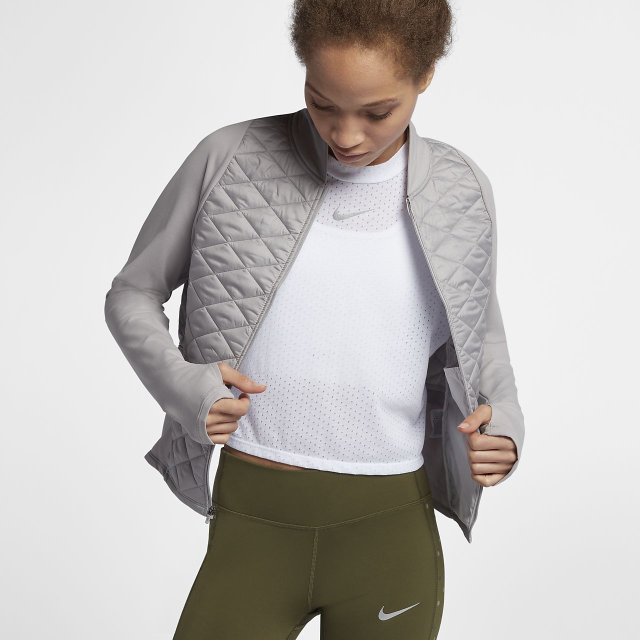 Nike AeroLayer Damen-Laufjacke