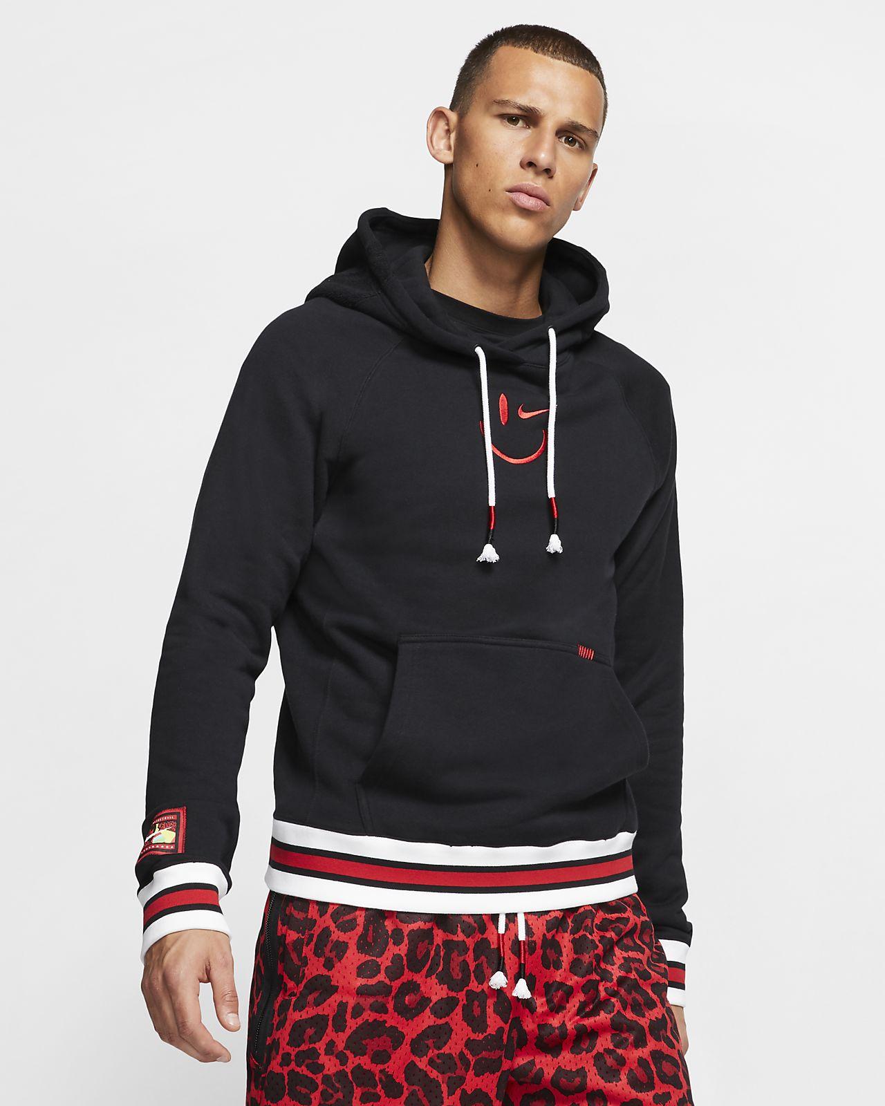 Sudadera con capucha de básquetbol para hombre Nike