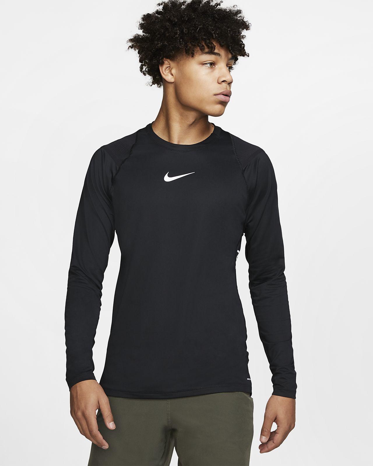 Nike Pro AeroAdapt Uzun Kollu Erkek Üstü