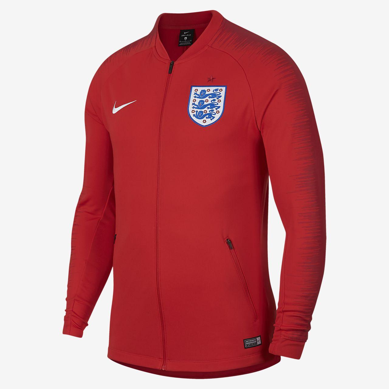 England Anthem fotballjakke for herre