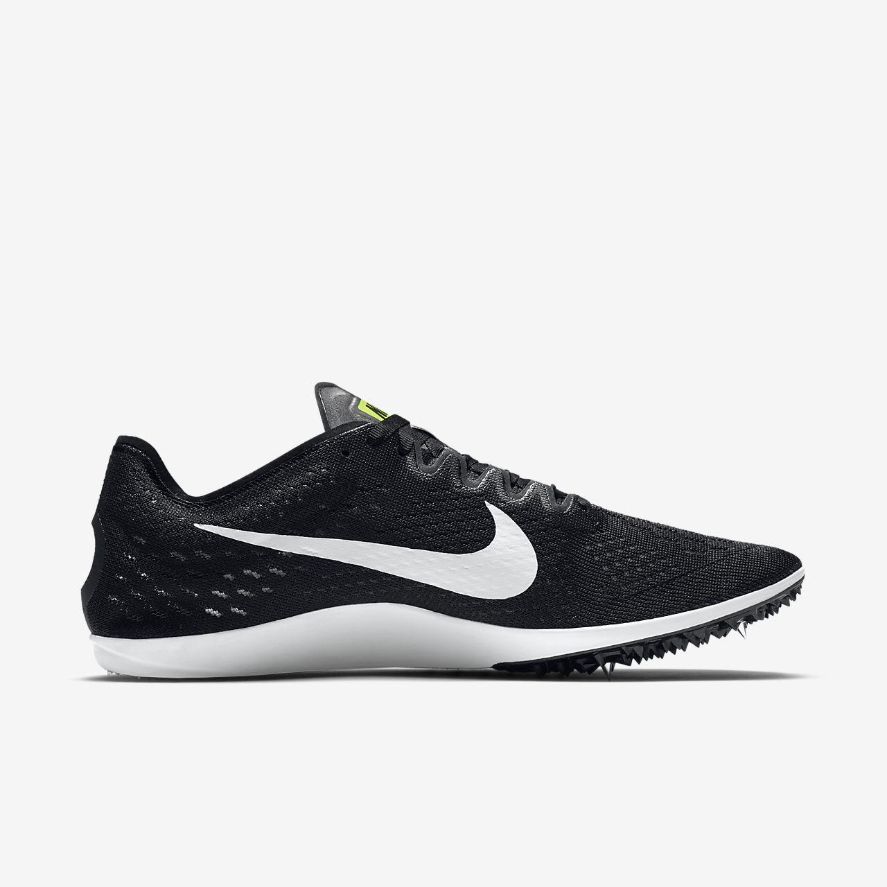 Nike Zoom D Women's Running Shoes Black/Violet/White uQ4902M